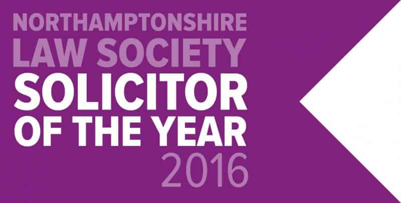 Northamptonshire Law Society Solicitor Of The Year 2016 - Kevin Rogers