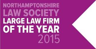The Northamptonshire Law Society Law Firm of the Year 2015