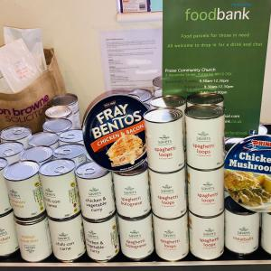 Feeding the Kettering District food bank