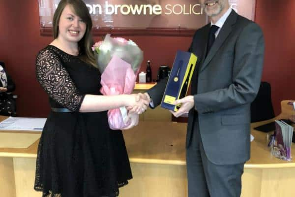 Fulfilling An Ambition – Success for Trainee Solicitor