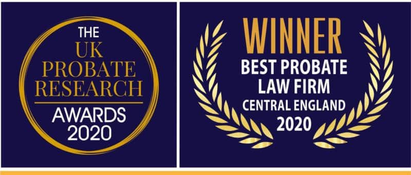 2020 Winner of Best Probate Law Firm Central England