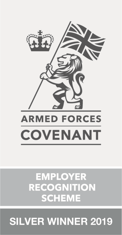 Armed Forces Covenant Silver Winner 2019