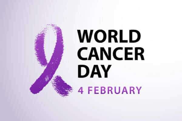 Raising Awareness Of Cancer On World Cancer Day