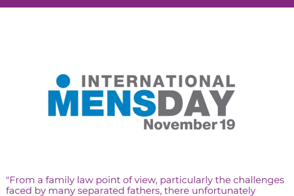 International Men's Day and the Role of Separated Fathers