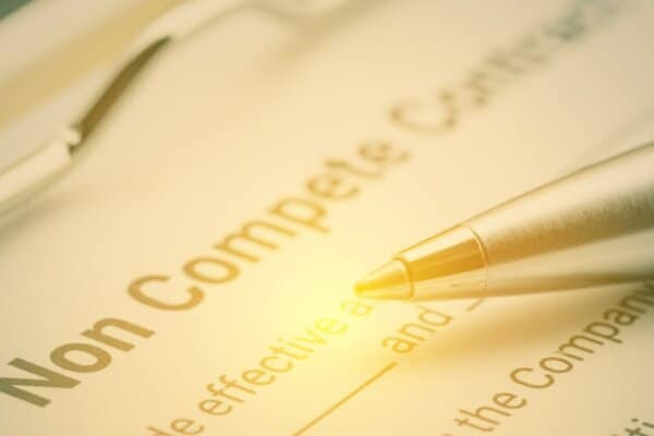 Non-compete clauses, currently under review.