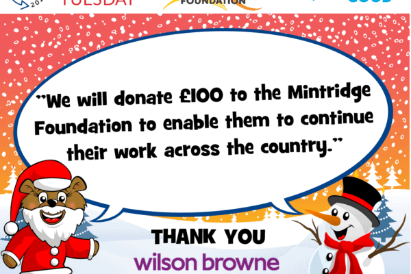 Supporting The Mintridge Foundation on #GivingTuesday