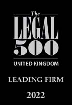 Leading Firm in the Legal 500 United Kingdom 2022